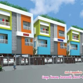 Ganga, Yamuna,Saraswati,Kaveri Apartments @ Rajakilpakkam