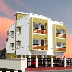 Amudha Castia Apartments @ Perumbakkam